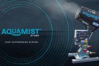 Terex lansează sistemul de suprimare a prafului, Aquamist
