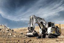 Liebherr lansează gigantul R 9600 din noua generație de excavatoare hidraulice pentru exploatare minieră