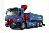 Renault Trucks produce primul său camion complet electric destinat aprovizionării pe șantiere