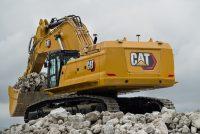 Noul excavator Cat 395 Next Generation este mai productiv și mai durabil decât modelul anterior 390F