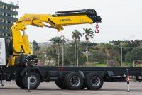 Macarale Hyva instalate pe camion, pentru siguranța și eficiența aplicațiilor de ridicare și încărcare