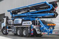Noua tehnologie iONTRON de la Putzmeister reduce emisiile de noxe și de zgomot pe șantier