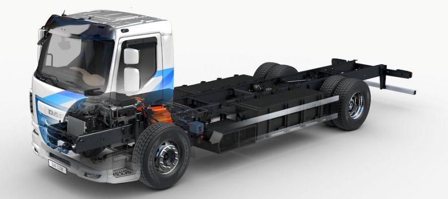 """DAF își extinde gama de camioane electrice cu """"emisii zero"""" pentru distribuție urbană"""