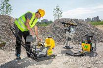 Echipamentele electrice pentru construcții Wacker Neuson și Bomag vor împărți aceeași baterie