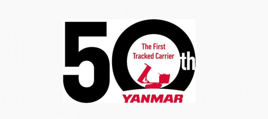 Yanmar sărbătorește 50 de ani de construcție a dumperelor pe șenile