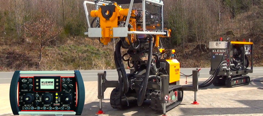KLEMM prezintă noua sa instalație universală de foraj KR 606-3