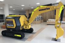 Komatsu a anunțat un concept de mini-excavator electric fără cabină și cu control de la distanță