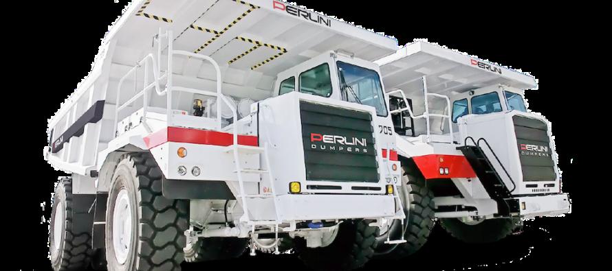 Noi motoare Scania Stage V pentru basculante rigide Perlini Dumpers