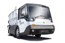 Green-G și Webasto propun un camion electric pentru aplicații municipale