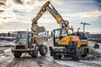 Noile excavatoare pe roți Hydrema MX au acum motoare mai puternice