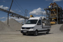 MAN eTGE now also drives electrically in parks and on construction sites