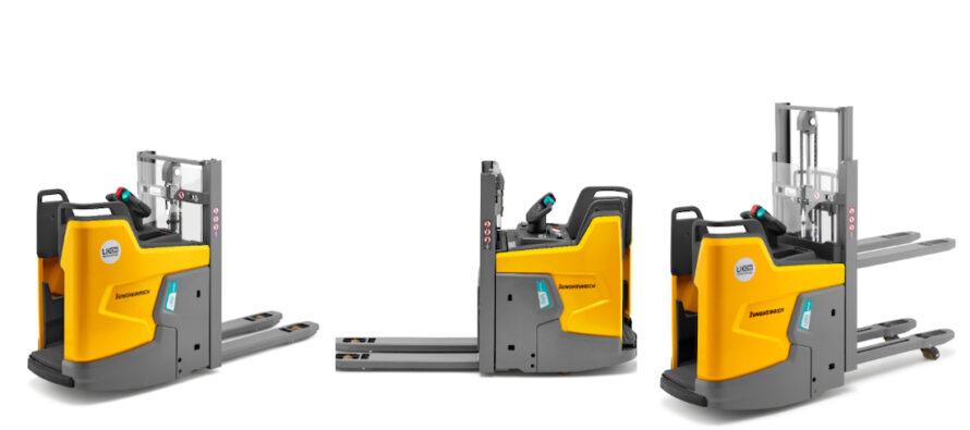 Noul stivuitor electric ERD 220i cu tehnologie Li-ion integrată redefinește conceptele compactității, siguranței și ergonomiei