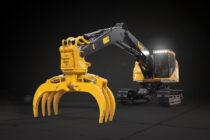 Tigercat lansează excavatorul manipulator forestier LSX870D
