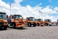 Mercedes-Benz Trucks & Buses România și CTE Solution livrează prima tranșă de 45 de vehicule Unimog către CNAIR