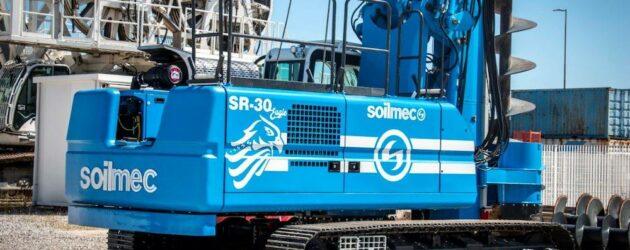 Soilmec introduce noua instalație de foraj rotativ SR-30 Eagle