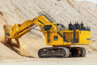 MINExpo 2021: Komatsu va opera la distanță, din Las Vegas, un excavator aflat în Arizona