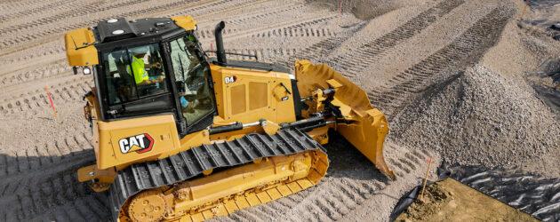 O vizibilitate mai bună și mai multe opțiuni tehnologie pentru noul buldozer Cat D4