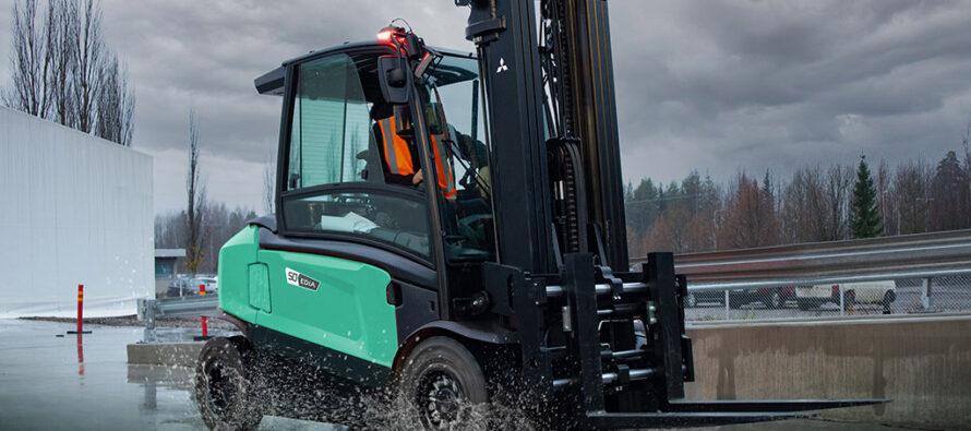 Mitsubishi Forklift Trucks a lansat noua gamă de stivuitoare electrice EDiA XL