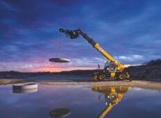 JCB introduce noul manipulator telescopic rotativ 555-260R