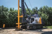 The new BAUER eBG 33 – The drilling rig for an electrical future