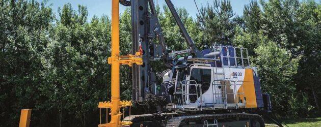 Pentru un viitor electric, Bauer introduce noul utilaj de foraj rotativ eBG 33