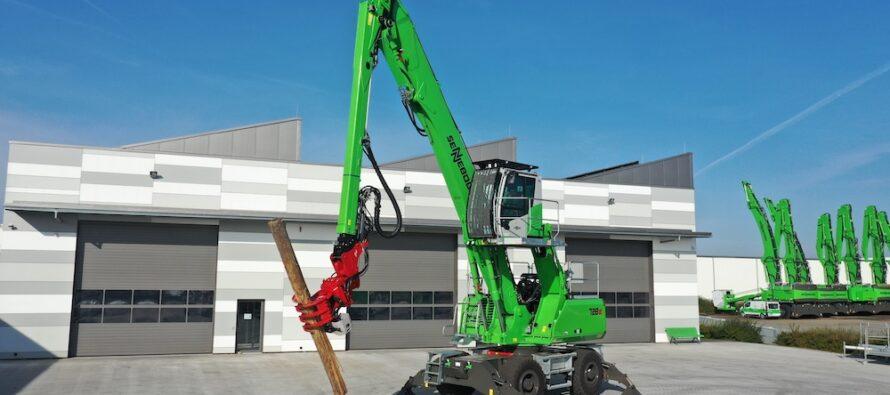 Pentru lucrări de toaletare a arborilor, Sennebogen introduce noul 728 E